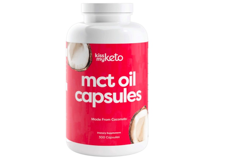 MCT Oil Capsules by Kiss My Keto