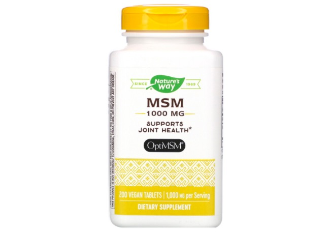 Nature's Way Keto MSM Supplement Tablets
