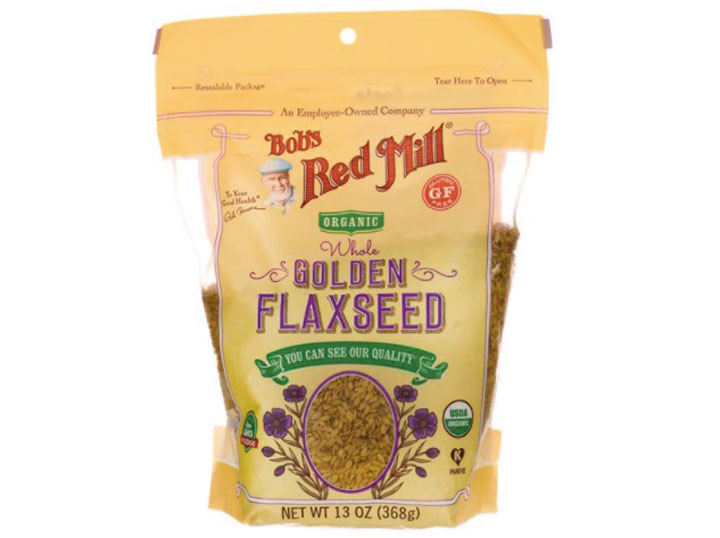 Raw Whole Golden Flaxseed by Bob's Red Mill