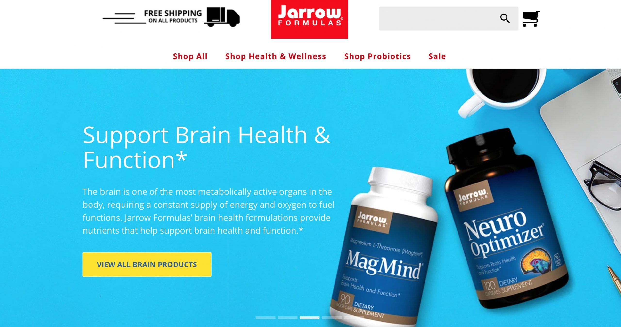 Jarrow Formulas main page