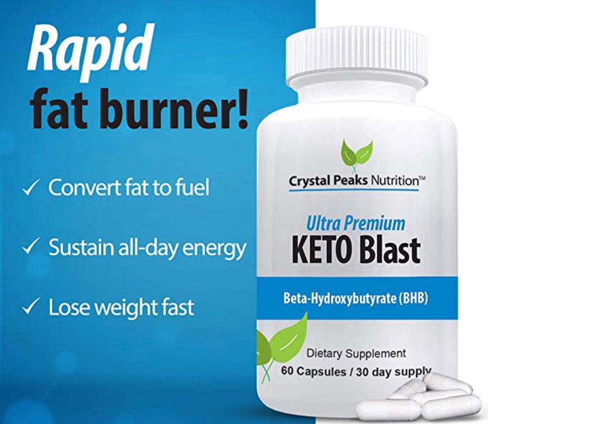 Keto Blast beta hydroxybutyrate