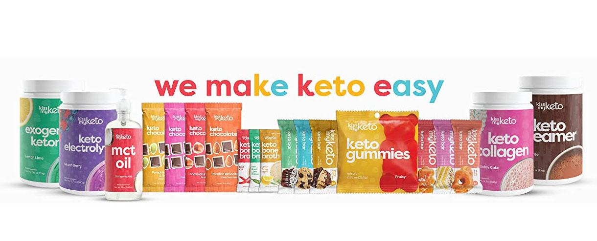 KissMyKeto products